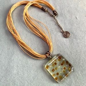 🎁FREE with $10 Purchase Art Glass Necklace